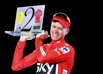 Froome reflects on 'special' Vuelta win