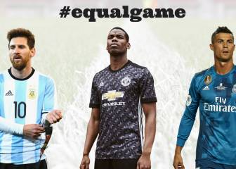 Ronaldo, Messi and Pogba feature in UEFA's #equalgame campaign