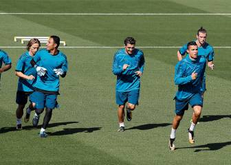 Real Madrid's final session to prepare for APOEL visit