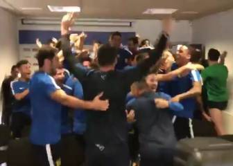 Scenes at Fuenlabrada on hearing Real Madrid Cup draw