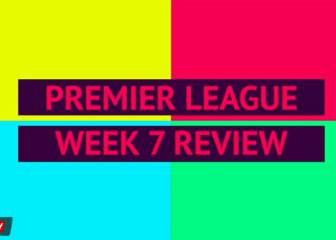 Premier League review: week 7