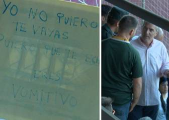 La Guardia Civil confiscó la pancarta: