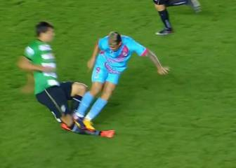 Has Rodrigo Contreras committed the worst tackle of all time?