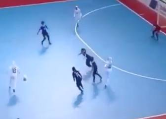 Iran Women's futsal side show why they are the team to beat