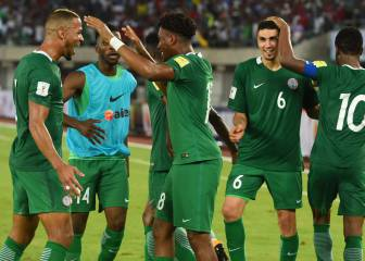 The Iwobi goal that sends Nigeria to the World Cup