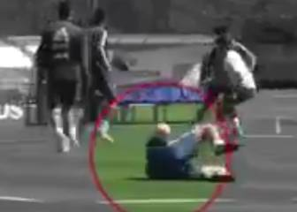 Messi hits Benedetto where it hurts in Argentina training