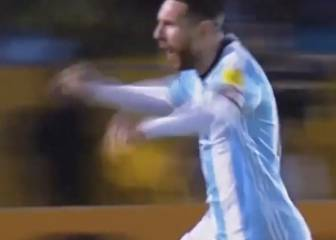 Messi hat-trick that sealed Argentina's World Cup place