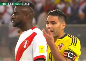 Falcao accused of telling Peru players to play for draw