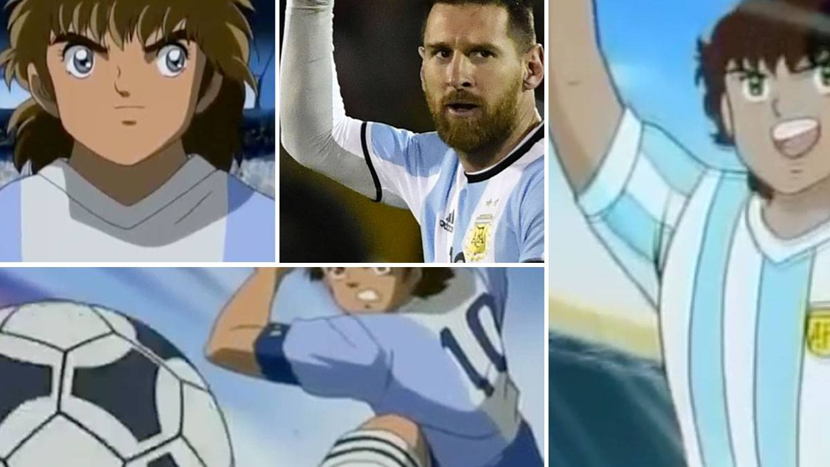 Vdeo  El Anime De Messi Ms Brutal Un Hat-Trick A Lo -5740