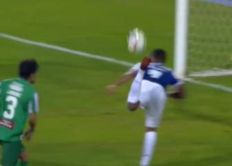 Hernani barely celebrates despite scorpion-kick goal