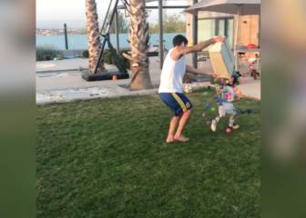 Isco and son having more fun