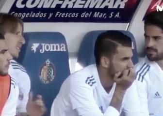 Luka Modric sent Isco out to warm up after Getafe equaliser