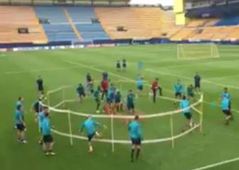 Villarreal, like a bull in a ceramics stadium...