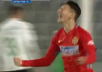 14-year-old crowns Steaua debut with injury-time strike!