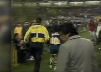 20 years this week since Diego Maradona's final appearance