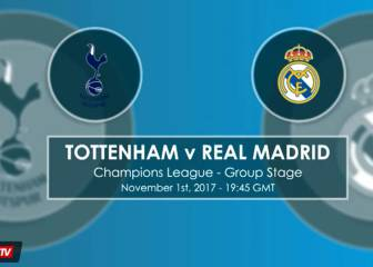 Tottenham v Real Madrid - Head to Head