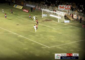 Chileno Monreal anotó este gol en el ascenso mexicano