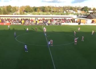 Fara Williams scores from kick-off as Reading beat Arsenal