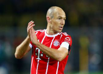 Robben ignored by Bayern teammates after training 'injury'