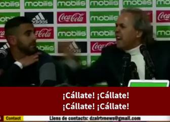Algeria coach Rabah Madjer gives journo a verbal bashing