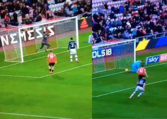 Four goals, four goalkeeping howlers in Sunderland v Millwall