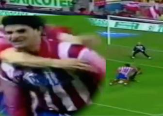 Atlético's wonder-goal against Roma in 1998-99 Uefa Cup
