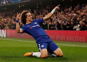 David Luiz, un central agresivo, rápido y con gol