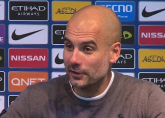 Guardiola explica su incidente con Redmond al final del partido