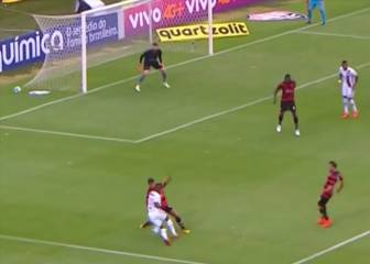 Vinicius Junior skill leads to equaliser in Flamengo win