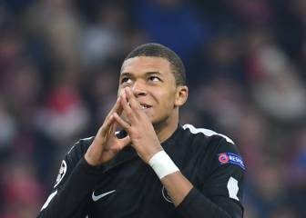 Kylian Mbappé youngest in history to reach 10 UCL goals
