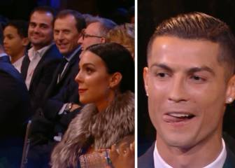 Cristiano's throwaway line leaves Georgina bemused