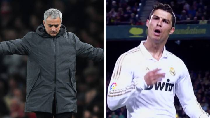 Mou elects Cristiano\'s Camp Nou \'Calm down guys\' goal as his best