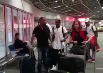 Vinicius Junior travels to Spain with his family for Madrid visit