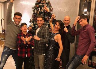 Who's who? A hidden message behind the Zidane Christmas pic