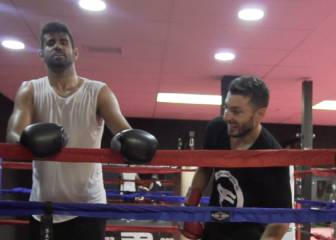 Diego Costa's boxing trainer explains how he took to the sport