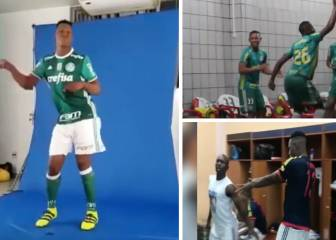 Yerry Mina dancing compilation... Barça's new man can cut a shape