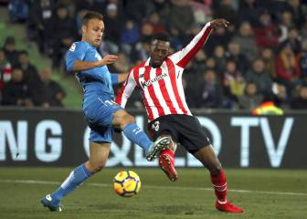 Getafe y Athletic empatan y se mantienen en la zona media