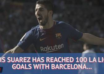 How much do you know about Luis Suarez's 100 La Liga goals?