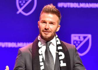 Beckham already fielding calls from players about Miami MLS franchise