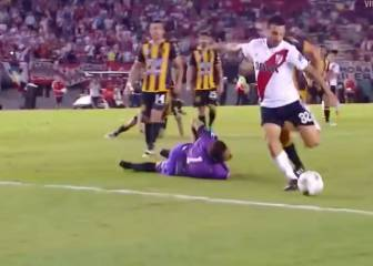 Is this the best goal in the history of the Argentinian league?