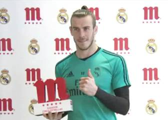 Gareth Bale voted Mahou's Player of the Month for January