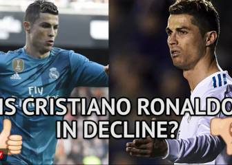 Is Cristiano Ronaldo in decline?
