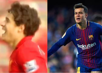 Coutinho y la conexión de su primer gol en Liverpool y Barça. BARCELONA 4a4e65cde088f