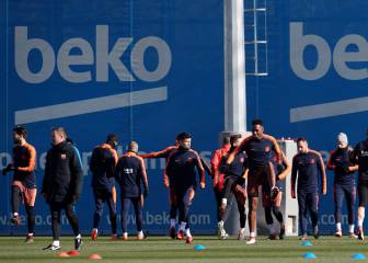 Piqué misses training but makes the squad for Getafe visit