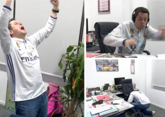 Roncero explosion: Real Madrid's #1 fan reacts to the PSG goals