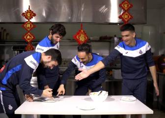 Espanyol's Jiaozi challenge for Chinese New Year