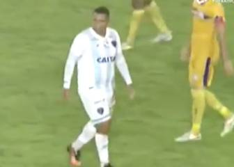 On-loan Porto player makes debut for Brazilian club looking decidedly overweight
