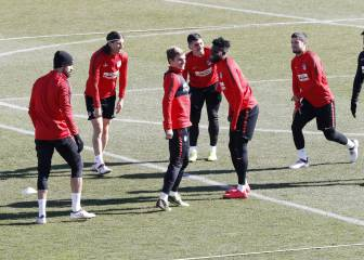 Atlético return to the training ground... without Carrasco