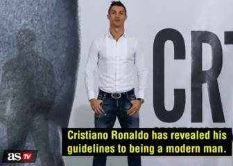 Cristiano Ronaldo on being a modern man