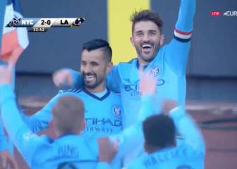 Villa ya está 'on fire': primer gol de la temporada con el NY City
